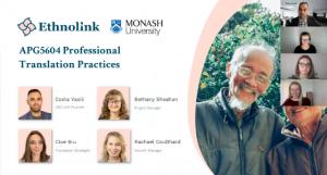 Ethnolink inspires Monash University's next generation of translators
